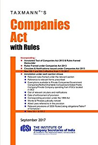Companies Act 2013 with Rules (Pocket-size)