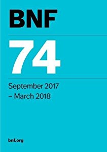 British National Formulary (BNF 74) (Sept. 2017 to March 2018)