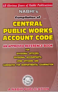 Compilation of Central Public Works Accounts Code (CPWA Code)