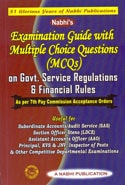Examination Guide with Multiple Choice Questions (MCQs) on Govt. Service Regulations & Financial Rules