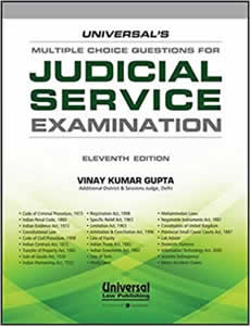 Multiple Choice Questions for Judicial Service Examination