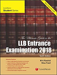 The Ultimate Guide to the LL.B. Entrance Examination 2018 (Recommended for CLAT)