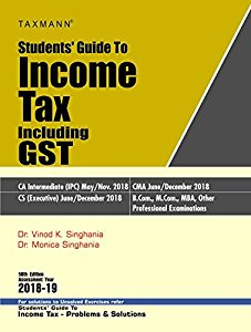 Students Guide to INCOME TAX (Including GST)