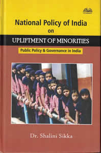 National Policy of India on Upliftment of Minorities - Public Policy and Governance in India