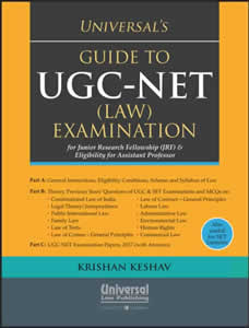 Guide to UGC-NET (LAW) Examination for Junior fellowship (JRF) & Eligibility for assistant professor