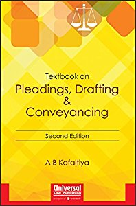 Textbook on Pleadings, Drafting & Conveyancing