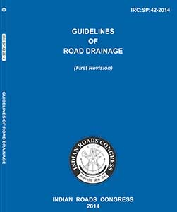 Guidelines of road drainage (irc:sp:42-2014) buy online now at.