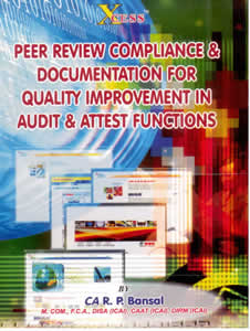 A Work-Book on Documentation for Quality Improvement in AUDIT and ATTEST Functions