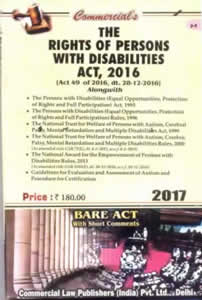The Rights of Persons with Disabilities Act, 2016 (Latest Bare Act)