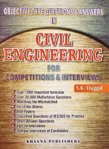 Objective Type Questions & Answers in Civil Engineering For ...