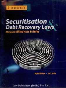 Securitisation & Debt Recovery Laws, (Alongwith Allied Acts & Rules) (in 2 Vols.)