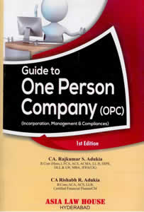 Guide to One person Company (OPC)