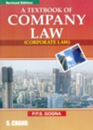 A Textbook of Company Law (Corporate Law)