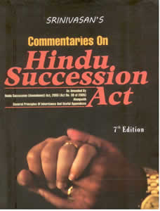 Commentaries on HINDU SUCCESSION Act
