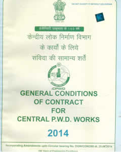 General Conditions of Contracts for CPWD Works (with Amendment)