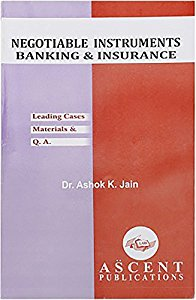 Negotiable Instruments, Banking & Insurance (Leading Cases & Materials)