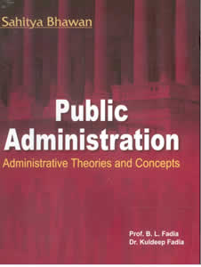 Public Administration - Administrative Theories and Concepts