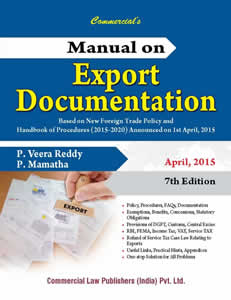Manual on EXPORT Documentation