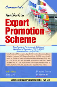 Handbook on Export Promotion Schemes